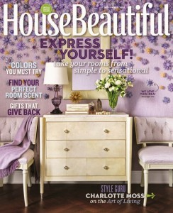 House Beautiful November cover