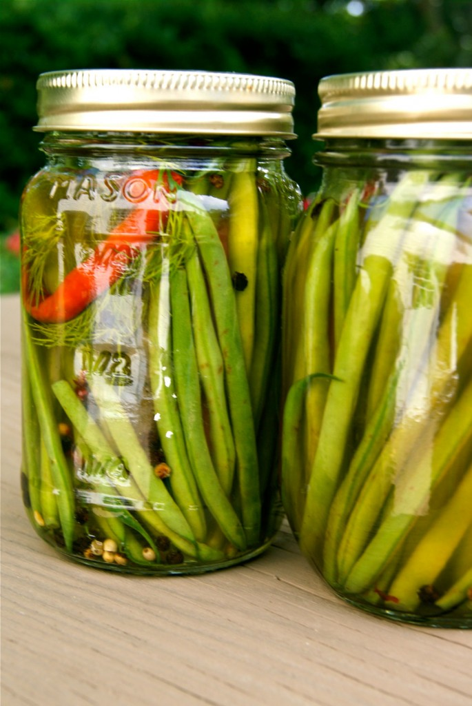 Crispy Pickled Green Beans With Mary Randolph S Pepper Vinegar